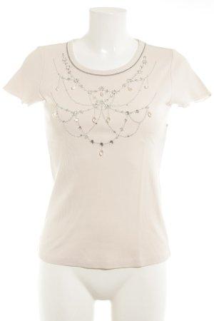 Schuhmacher T-Shirt rosé-silberfarben minimalistischer Stil