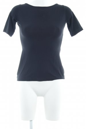 Schuhmacher T-Shirt schwarz schlichter Stil