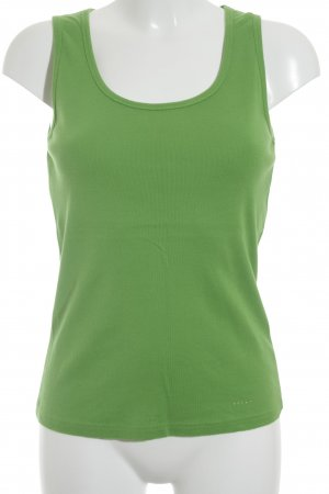 Schuhmacher Tank Top neon green athletic style
