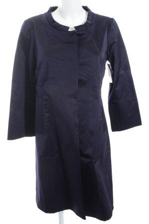 Schuhmacher Übergangsmantel dunkelblau Elegant