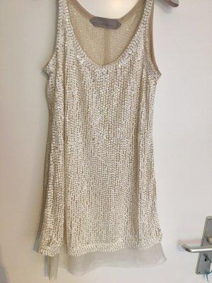Schuhmacher Vintage Pailletten Kleid