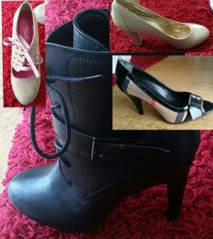 Schuhpaket mit Absatz