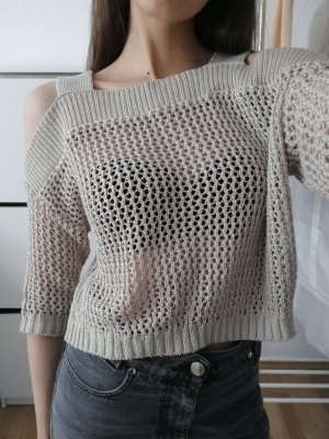 Zara Knitted Top beige