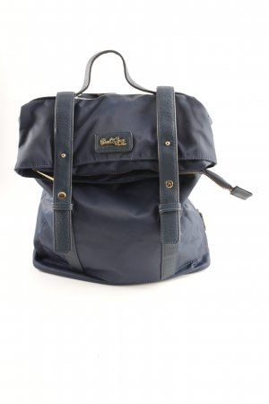 Paul & Joe Sister Mochila escolar azul oscuro look casual