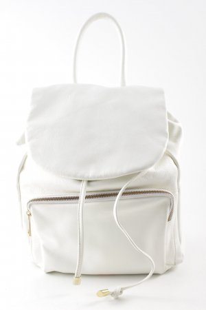 School Backpack natural white extravagant style
