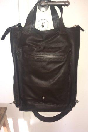Schulter Braune Leder Tasche von Mandarina Duck