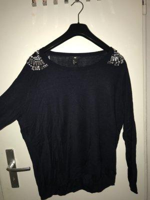 H&M Long Shirt dark blue