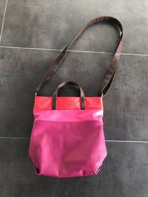 Schulter Tasche pink Zwei