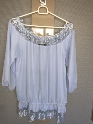 eight Carmen blouse veelkleurig
