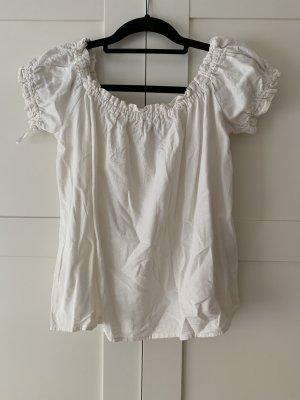 Vero Moda Blouse Carmen blanc