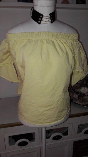 Schulterfreie Bluse Gr.34