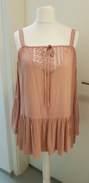 Reserved Ruffled Blouse dusky pink
