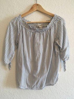 Schulterfreie Bluse H&M