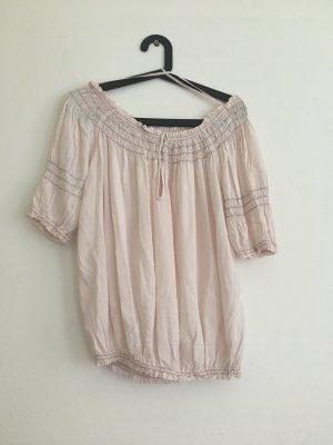 Schulterfreie Bluse mit Carmen-Ausschnitt