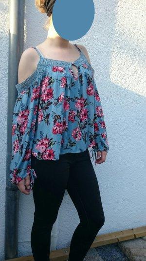 Schulterfreie Bluse von Abercrombie & Fitch