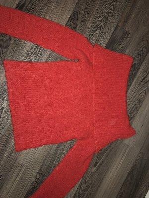 Jersey de lana rojo