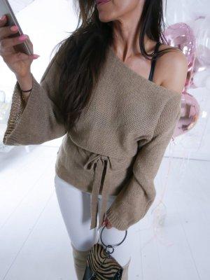 Oversized Sweater beige-light brown