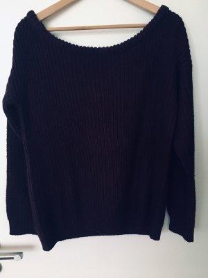 Schulterfreier Pullover S Carmen