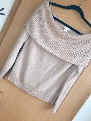 Schulterfreier Sweatshirt