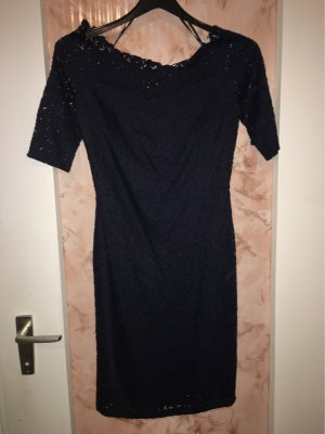 Orsay Off the shoulder jurk donkerblauw