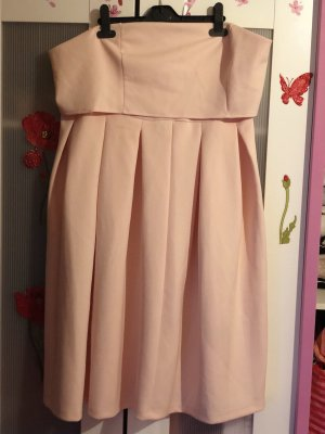 asos curve Balloon Dress pink