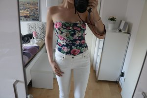 Off-The-Shoulder Top multicolored