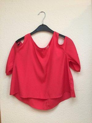 Hollister Camisa de un solo hombro multicolor