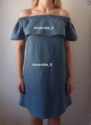 Asos Off the shoulder jurk veelkleurig Katoen
