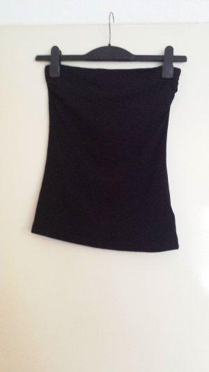 H&M Haut bandeau noir coton