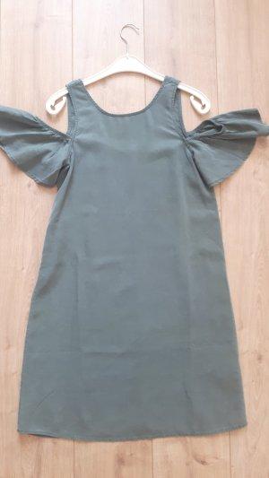 Only Off-The-Shoulder Dress sage green