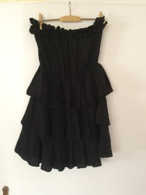 schulterfreie kleider g nstig kaufen second hand m dchenflohmarkt. Black Bedroom Furniture Sets. Home Design Ideas