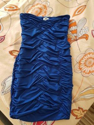 b.p.c. Bonprix Collection Vestido strapless azul