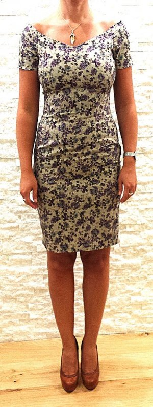 zara schulterfreie kleider g nstig kaufen second hand m dchenflohmarkt. Black Bedroom Furniture Sets. Home Design Ideas