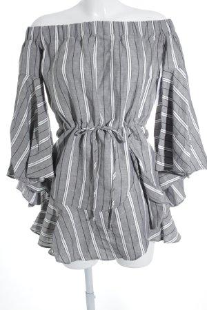 Shona Joy schulterfreies Kleid meliert Beach-Look
