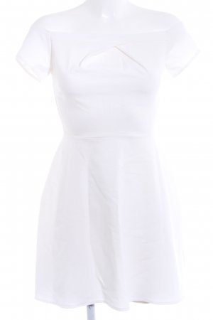 Off-The-Shoulder Dress white-natural white casual look
