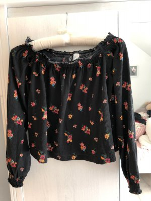 H&M Divided One Shoulder Shirt multicolored
