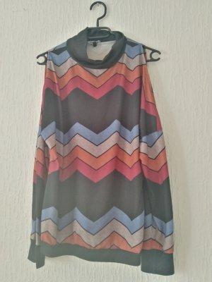 Camisa larga multicolor