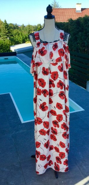 100% Fashion Maxi-jurk veelkleurig Viscose