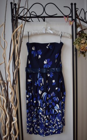 Mango Suit Vestido bustier multicolor