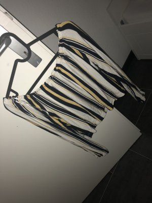 Bershka Shirt black-gold orange