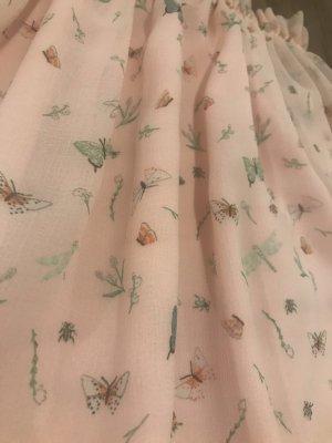 H&M Blusa larga rosa claro-rosa