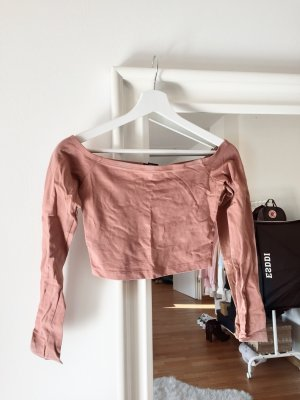 Forever 21 Cropped Shirt multicolored