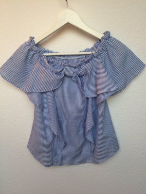 Schulterfreies Shirt/ Größe M
