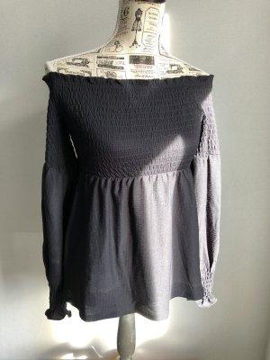 Schulterfreies Shirt von Pieces Gr. S neu
