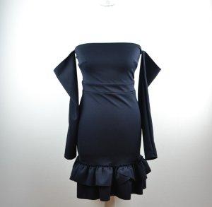 Schulterfreies Silvesterkleid von Silver Bloom