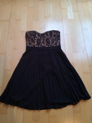 Forever 21 Off-The-Shoulder Dress black-beige