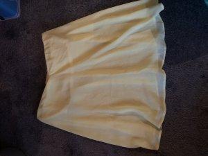 Bershka Camisa tipo Carmen amarillo claro