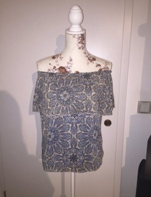 Only Off-The-Shoulder Top multicolored