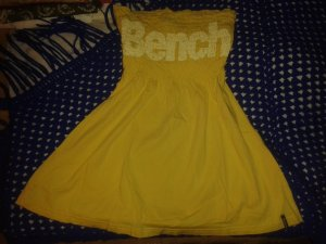 Bench Off the shoulder top geel