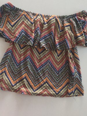 Primark Flounce Top multicolored